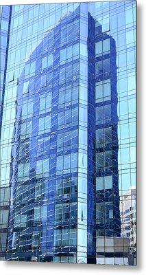 Urban Reflections Metal Print