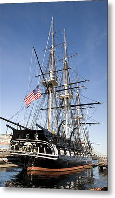 Uss Constitution Metal Print by Tim Laman