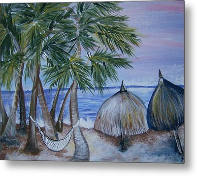 Vacation Metal Print by Leslie Manley
