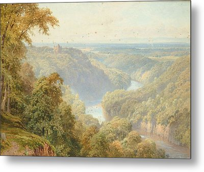 Vale Of Mowbray From Hackfall Metal Print by Harry Sutton Palmer