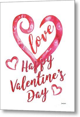 Valentine Metal Print by Debbie DeWitt