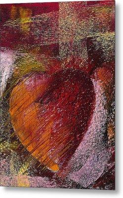 Valentine Heart Metal Print by David Patterson