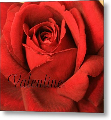Valentine Metal Print by Marna Edwards Flavell