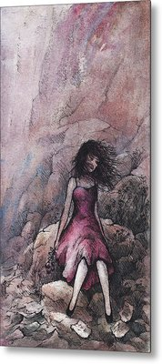 Valentine Metal Print by Rachel Christine Nowicki