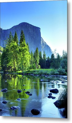 Valley View Morning Metal Print