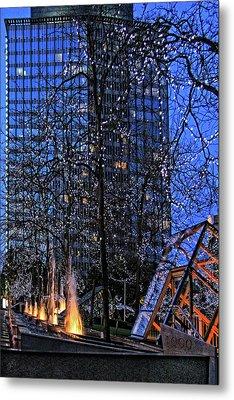 Vancouver - Magic Of Light And Water No 1 Metal Print by Ben and Raisa Gertsberg