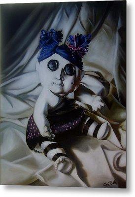 Vashler Baby Doll Metal Print