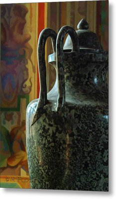 Metal Print featuring the photograph Vatican Ancient Jar by Michael Flood