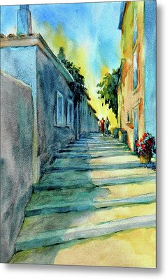 Vaugines Steps No 2					 Metal Print by Virgil Carter