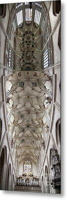 Vault Of Saint Barbara Church Metal Print