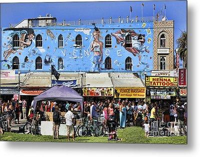 Venice Beach V Metal Print by Chuck Kuhn