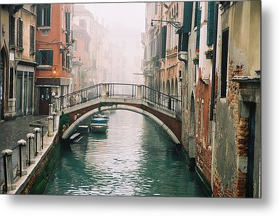 Venice Canal II Metal Print by Kathy Schumann