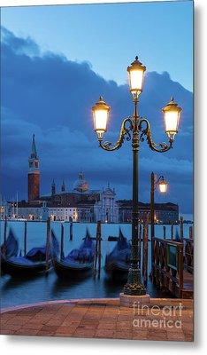 Venice Dawn V Metal Print by Brian Jannsen