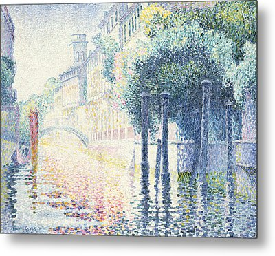 Venice Metal Print by Henri-Edmond Cross