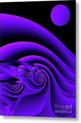Venusia Sea Metal Print by Mindy Sommers