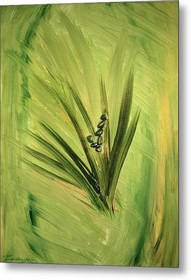Ver Vi An Metal Print by Emerald GreenForest