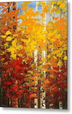 Vermont Palette Metal Print