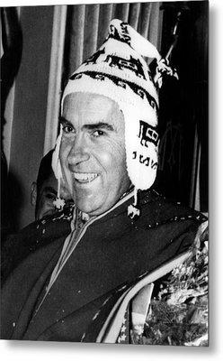 Vice President Richard Nixon 1913-1994 Metal Print by Everett