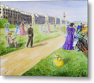Victorian Filey Metal Print by Svetlana Sewell