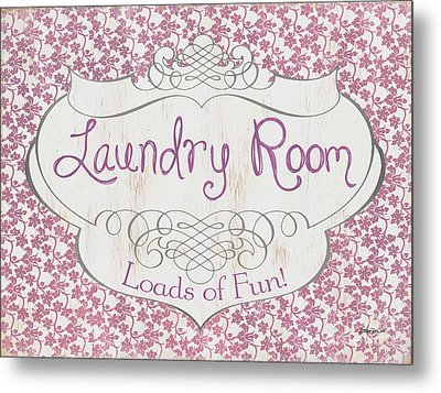 Victorian Laundry Room Metal Print