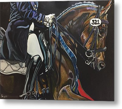 Victory Ride Metal Print by Stephanie Come-Ryker