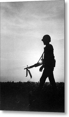 Vietnam Training Exercise Metal Print