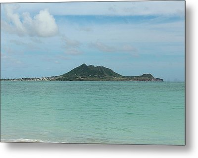 View From Kailua Beach Metal Print