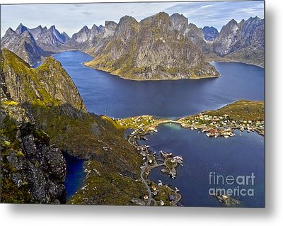 View From Reinebringen Metal Print by Heiko Koehrer-Wagner