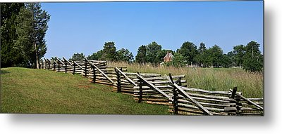 View Of Clover Hill Tavern Appomattox Court House Virginia Metal Print by Teresa Mucha