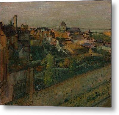 View Of Saint-valery-sur-somme Metal Print by Edgar Degas