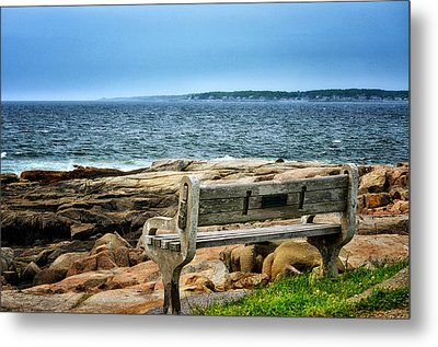 View Of The Sea Metal Print by Tricia Marchlik