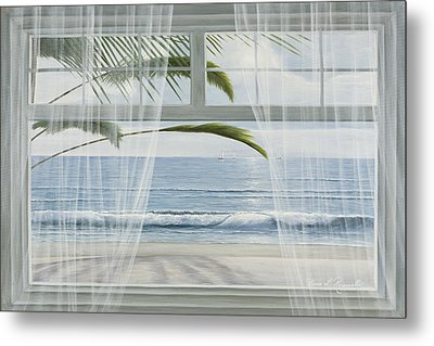 View Of The Tropics Metal Print