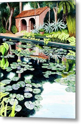 Lily's Pond - Prints Available In Large And Smaller Sizes Metal Print