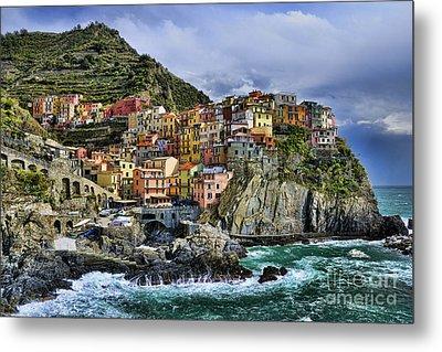 Village Of Manarola - Cinque Terre - Italy Metal Print by JH Photo Service