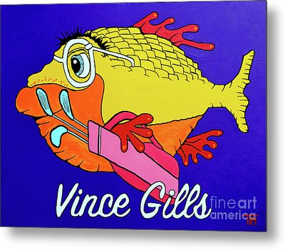 Vince Gills Metal Print by Tim Ross
