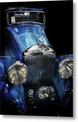 Vintage Bentley Metal Print by Martin Newman