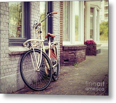 Vintage Bike Metal Print