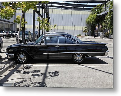 Vintage Black Ford Starliner . 5d16707 Metal Print by Wingsdomain Art and Photography