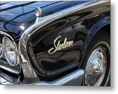 Vintage Black Ford Starliner . 5d16714 Metal Print by Wingsdomain Art and Photography