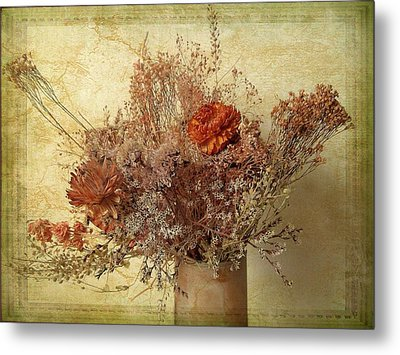 Metal Print featuring the photograph Vintage Bouquet by Jessica Jenney