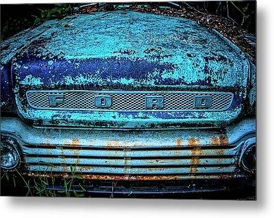 Vintage Ford Pick Up Metal Print