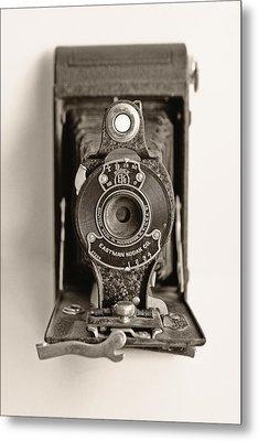 Vintage Kodak Camera Metal Print