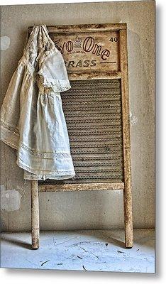 Vintage Laundry II Metal Print