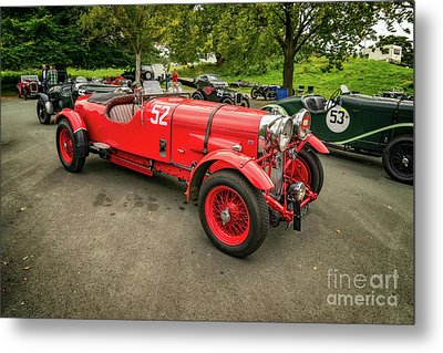 Metal Print featuring the photograph Vintage Motors by Adrian Evans
