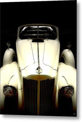 Vintage Packard Convertible  Metal Print by Steven Digman