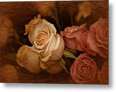 Vintage Roses March 2017 Metal Print by Richard Cummings