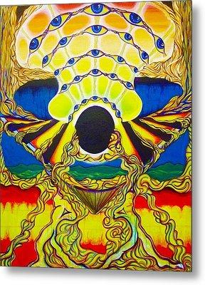 Viod  Movement Metal Print by Ben Christianson
