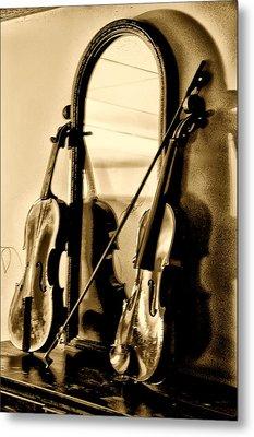 Violins Metal Print by Bill Cannon