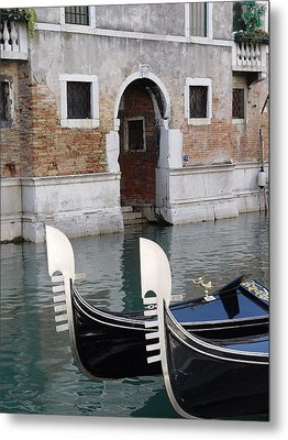 Visions Of Venice 3. Metal Print by Nancy Bradley
