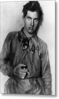 Vladimir Mayakovsky 1893-1930, Russian Metal Print by Everett